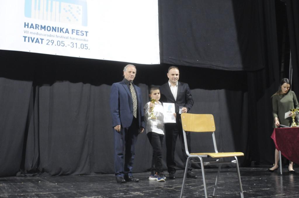 harmonika fest pavle djuric, dodjela nagrada